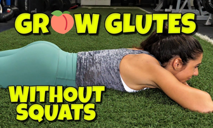 3 Great GLUTE Exercises if You Have BAD KNEES!