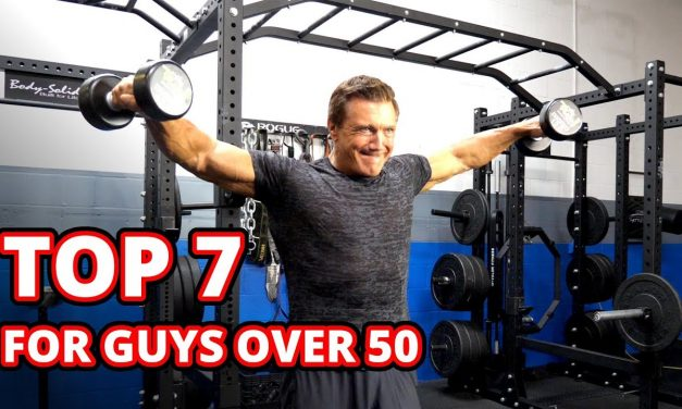 TOP 7 Dumbbell Exercises for Guys Over 50